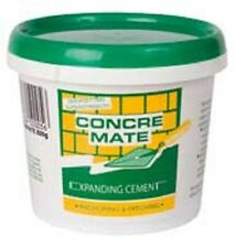 CONCREMATE EXPANDIN CEMENT REPAIR CRACK CONCRETE BRICKS POOL DRIVEWAY WALL HOME