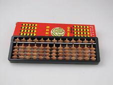 Japanese SOROBAN abacus Wood Bamboos Plastic 13 Column 7.5 x 2.25 x 0.5 inches