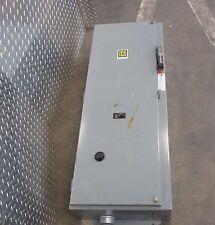 "Square D 8539Seg42V03C 39¾""x15½""x9&# 034; Enclosure W/ 100 A 3 Pole Circuit Breaker"