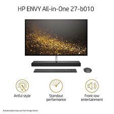 """HP Envy Touch 27-b120qd All in One 27"""" WQHD i7-7700t Quad 8GB 1TB Hybrid 4G 950"""