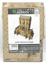 TTCombat SFG031 Gothic Ruined Servitialis (Sci-Fi Gothic) Terrain Kit Building