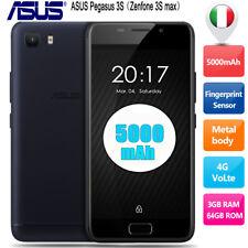 5000mAh ASUS Zenfone Pegasus 3s Max 4G Smartphone Téléphone 3+64Go Android7.0 EU
