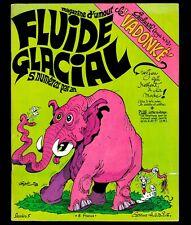 FLUIDE GLACIAL N° 5 (année 1976) GOTLIB FRED MASSE ALEXIS MÉZIERES LOUP MOEBIUS