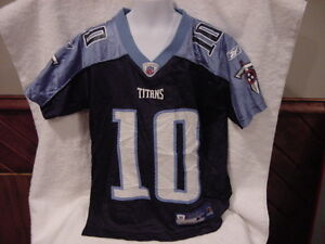BEAUTIFUL Vince Young Tennessee Titans Youth Sz Sm 8 Reebok Jersey, VERY NICE!!