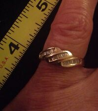 Women's 7 14K Gold Diamond Ring