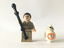 LEGO®  Star Wars Minifigure Rey & BB-08 split from set 75148 Encounter on Jakku