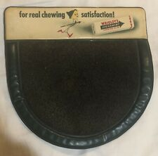 WRIGLEY'S  Spearment CHEWING GUM COUNTERTOP CHANGE MAT SIGN
