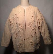 1950-60's True Vintage jacket-Looks like ST. JOHN KNIT! [But it's LANE BRYANT!]