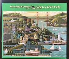 Hometown San Francisco 1000 Piece Puzzle - Complete
