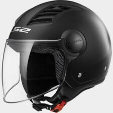 Helmet Jet LS2 Airflow Of562 Black Matt Size M