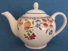 STAFFORDSHIRE CALYPSO FULL SIZE TEAPOT MADE IN ENGLAND TABLEWARE