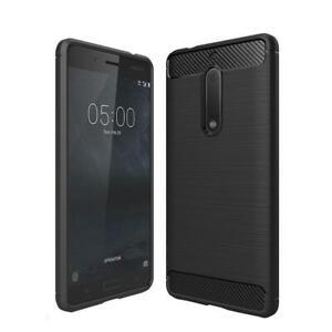 AMZER Shockproof Pudding TPU Skin Case for Nokia 5 - Black