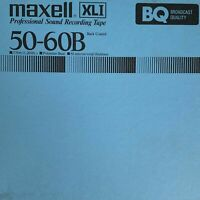 "Maxell XL-1 Reel to Reel Recording Tape, SP, 7"" Reel, 1200 ft, Refurbished"