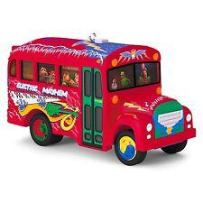 The Electric Mayhem Bus 2016 Hallmark Muppets Ornament Animal Janice Floyd Music