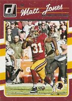 2016 DONRUSS Football #293 MATT JONES Washington REDSKINS CARD !!