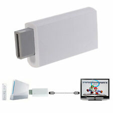 Wii To HDMI 1080P Upscaling Converter Adapter with 3.5mm Audio Output MU