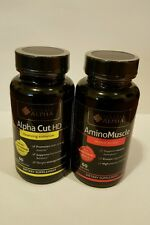 Alpha Cut HD Cleansing Enhancer & AminoMuscle ( 60 capsules ).