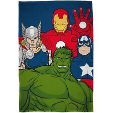 Marvel Avengers Mission Couverture Polaire Enfants Garçons 100cm X 150cm