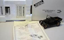 Danbury Mint 1/24 scale DieCast Car 1925 Ford Model T Runabout Black