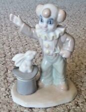 """Valentino Porcelain Clown Pulling Rabbit Out of Hat 5"""""""