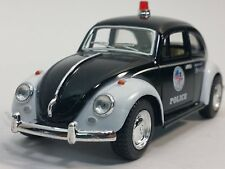 "5"" Kinsmart 1967 Volkswagen Classical Beetle Police Car 1:32 Diecast Model Toy"