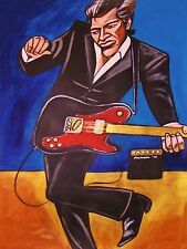 JOHN MELLENCAMP PRINT poster the best that I could do cd amp fender telecaster