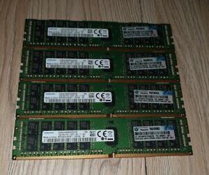 4x Samsung M393A2G40EB1 - CRC0Q 16GB DDR4 Server ECC Ram
