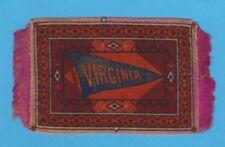 c1910s cigarette / tobacco felt University Of Virginia medium size 3