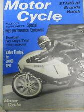 Motor Cycle Magazine, May 5, 1966, Scottish Six Days Trial,   blue box 1