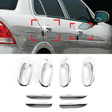 Chrome Door Catch Handle Molding Cover Garnish for RENAULT 2002-2005 Scala SM3