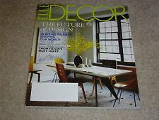THE FUTURE OF DESIGN * 25 RISING TALENTS March 2013 ELLE DECOR MAGAZINE Filicia