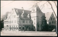 SALEM NY Proudfit Hall US Post Office Vtg RPPC Postcard Old Real Photo PC