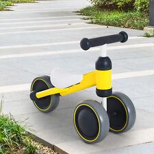 HOMCOM Kids Baby Toddler Trike 3 Wheel Ride-on Cycle for Balance Training Yellow