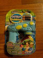 Amazing Bubbles Exstream Bubble Gun Green Kids Outdoor Toy