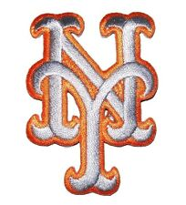"""New York Mets Baseball MLB Iron On Patch Embroidered Team Logo 2.25"""" tall NYM"""