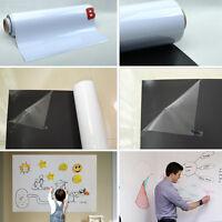 UK Dry Wipe Magnetic Whiteboard Blackboard Magnet Kids Drawing Memo Notice