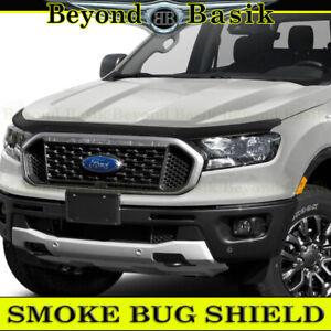 2019 2020 2021 Ford Ranger SMOKE Bug Shield Hood Guard WRAPAROUND Design