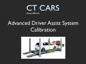 Volkswagen Audi Seat Skoda Advanced Driver Assist Radar and Camera Calibration