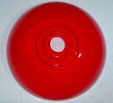 Lampenschirm 30cm Ersatzschirm Acryl E27 Fassung rot