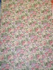 Textured Pink & Purple Flowers on Off White Wallpaper By York SM 4659