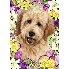 Easter Garden Flag - Buff Goldendoodle 332681