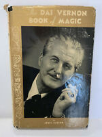 DAI VERNON BOOK OF MAGIC SIGNED LEWIS GANSON - STANLEY FIRST ED UK HC w/DJ