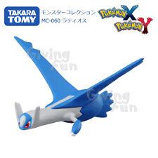 TAKARA TOMY Pokemon MONSTER Collection Blue Latios Ratiosu Figure Toy Asia Vr