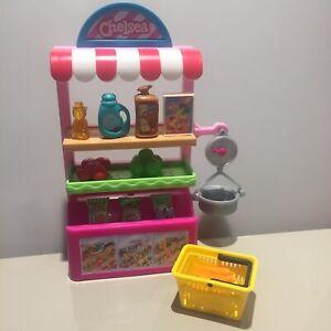 Mattel Barbie Chelsea supermarket greengrocer shop playset SO CUTE