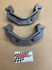 "Mopar A B E Body Disc Brake Spindle Caliper Bracket Set Slide Type 11"" Cuda Dart"