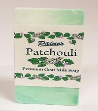Paine's Patchouli GOAT MILK SOAP made in Maine natural skin care 4.5 oz. bar