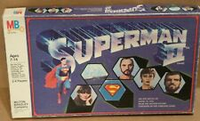 Superman II Board Game 1981 complete Milton Bradley Christopher Reeve