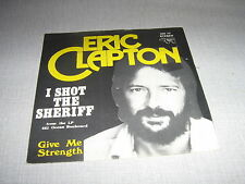 ERIC CLAPTON 45 TOURS BELGIQUE I SHOT THE SHERIFF