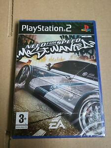Need For Speed most wanted ps2 *FACTORY SEALED*