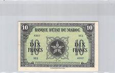 MAROC 10 FRANCS 1-5-1943 A207 N° 903 PICK 25a